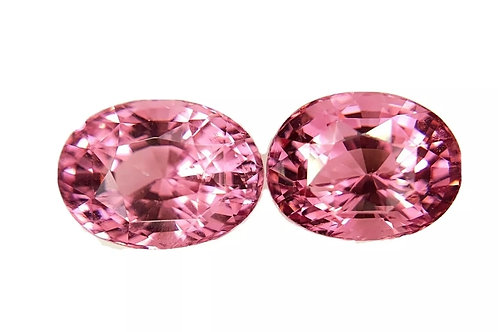 Tajikistan Pink Spinel 4.91 Ct Oval calibrated matching Pair loose gemstone see