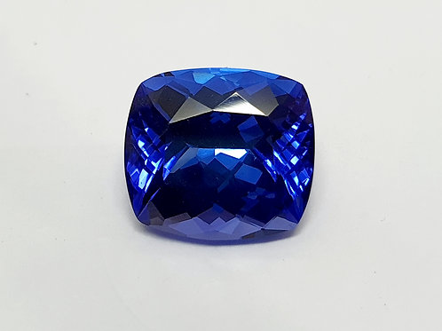 Fine 12.2 cts AAA Natural Tanzanite Blue  Loose Gemstone from Tanzania
