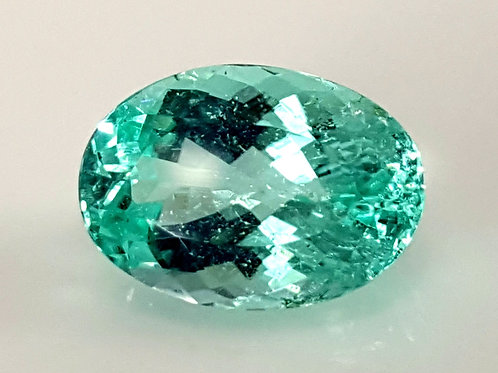 5.97 Cts GIA Certified Natural Paraiba1ourmaline top Neon Blue from Mozambique,