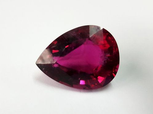 44.30 Ct Natural Rubellite Tourmaline from Brazil