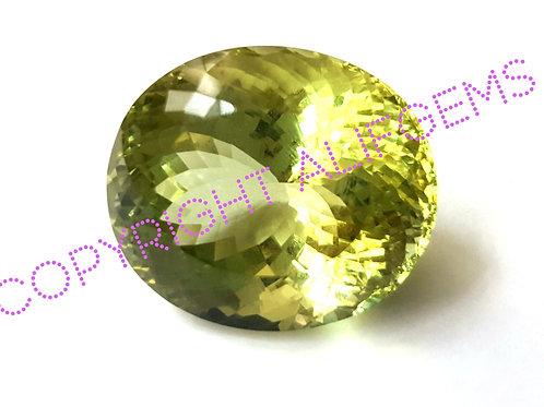 61.99 ct Green Beryl from Brazil