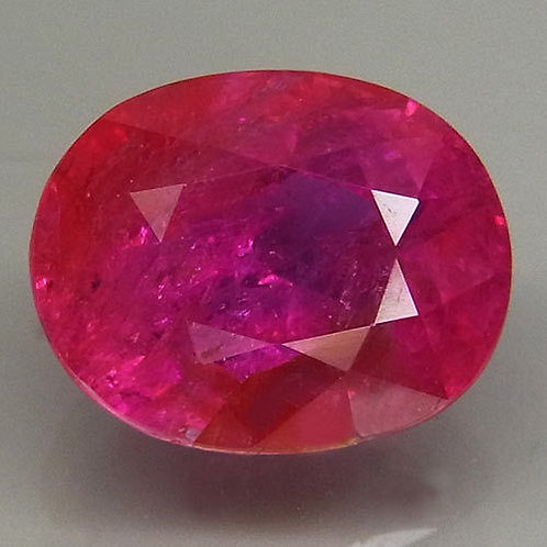 3.22 CTS Certified Unheated Natural Ruby  from Mozambique
