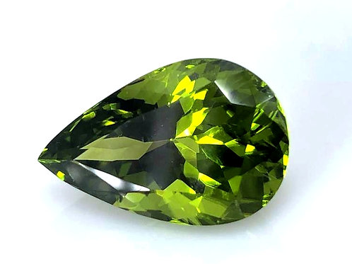 12.32 ct Natural Peridot Fine VVS loose gemstone
