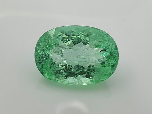 11.14 cts Neon Green Paraiba Tourmaline AIGS Certified loose gemstone