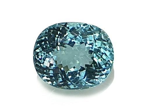 9.06 carat Electric Neon Blue  Paraiba Tourmaline from Mozambiqe