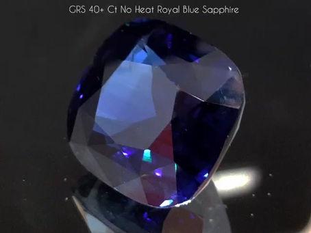 HUGE BLUE SAPPHIRE