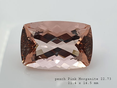 22.73 ct Natural Pink Morganite from Brazil