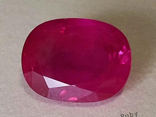 12.2 CTs認證的緬甸緬甸紅寶石散寶石