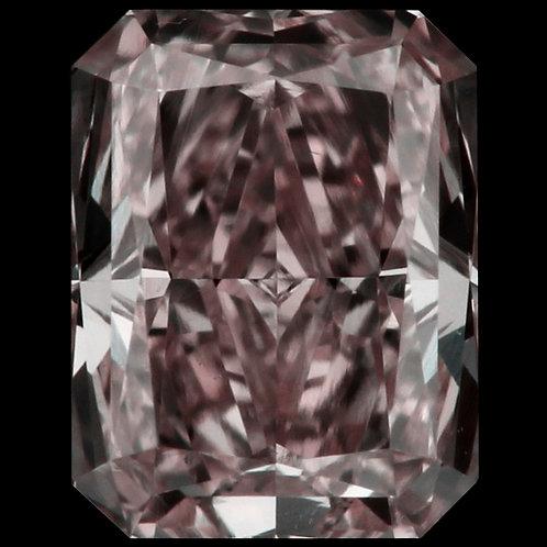 0.35 carat VS2 Fancy Purplish Pink Diamond GIA certified