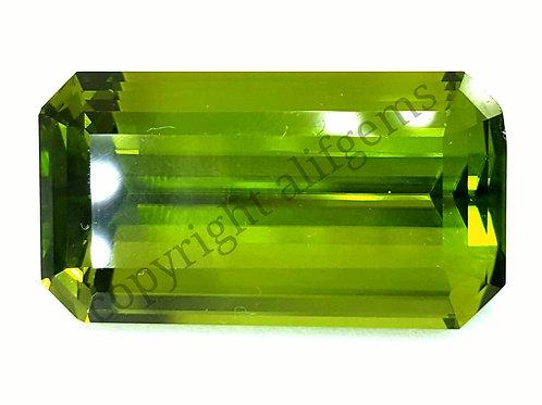 29.78 ct World class Burmese Peridot VVS grade gemstone