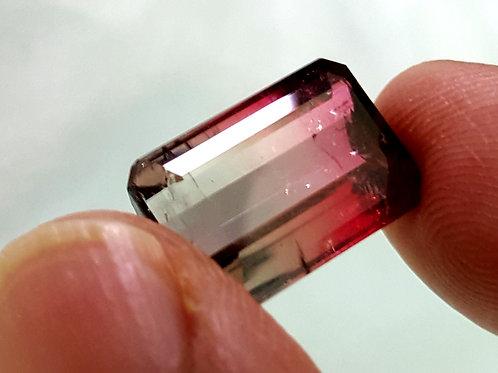 10.7 ct Natural Bi Color Tourmaline loose gemstones