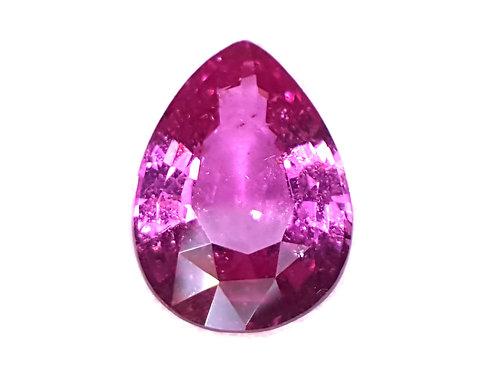 3.09 ct No Heat Natural vivid Pink Sapphire great cut