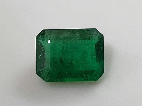 1.75克拉來自巴西的天然翡翠鮮綠色如水晶