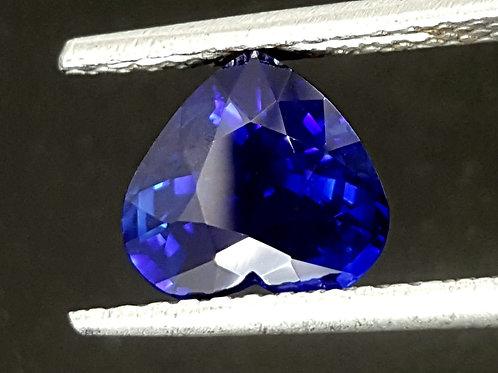 US $1250/CT 3.02 Ct Natural3Royal Blue Sapphire Heart shape from Sri Lanka