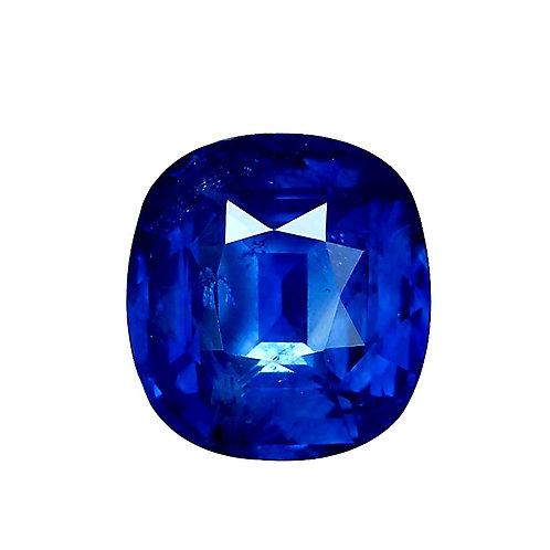 Fine SSEF & GIA certified Blue Sapphire 9.05 carat Sri Lanka Heat only