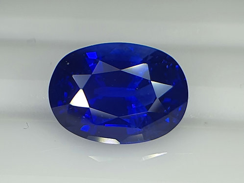 3.75 carat GRS certified Natural Royal Blue Sapphire