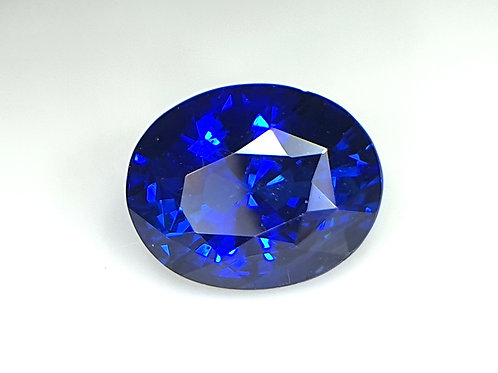 GRS certified Natural Royal Blue Sapphire 3.18ct