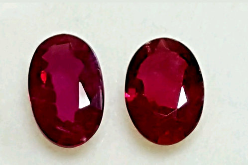1.43 cts Unheated Natural Ruby