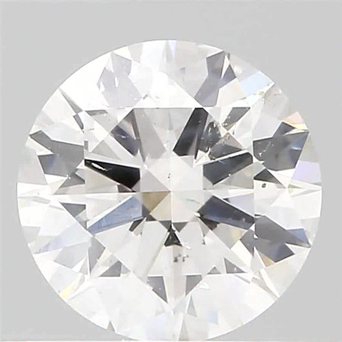 0.59 CT GIA CERTIFIED DIAMOND SOLITAIRE COLOR, SI1