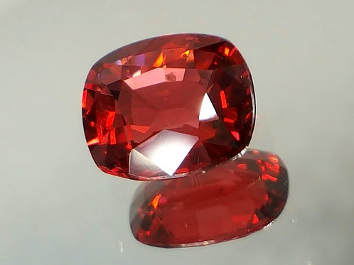 Natural 1.36 cts, Red Spinel open color