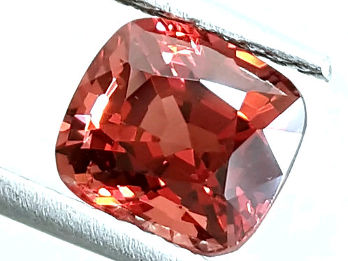 Natural 3.25 ct Burmese Spinel Deep Orangish Pink color