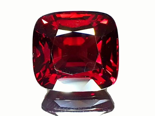 GRS certified 10.08 ct Burmese Red Spinel from Burma