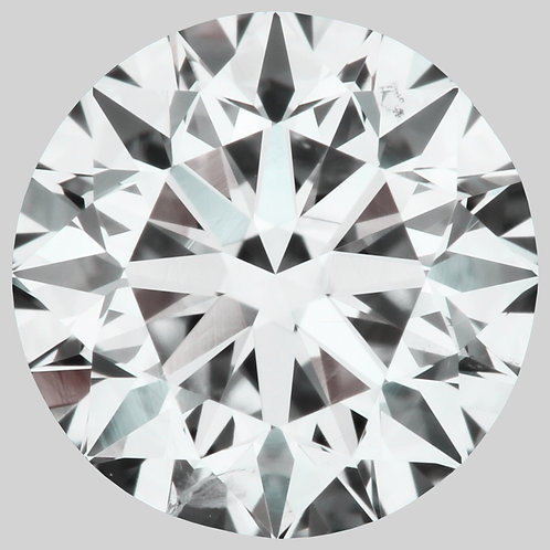 0.90 CT, H COLOR, SI1 LOOSE DIAMOND, GIA CERTIFIED