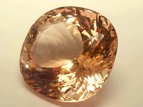 110 plus ct Natural Morganite no heat from Afghanistan
