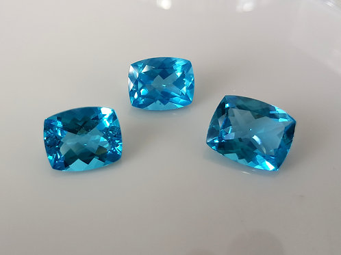 Rare 13 ct up Paraiba Apatite set  from Brazil