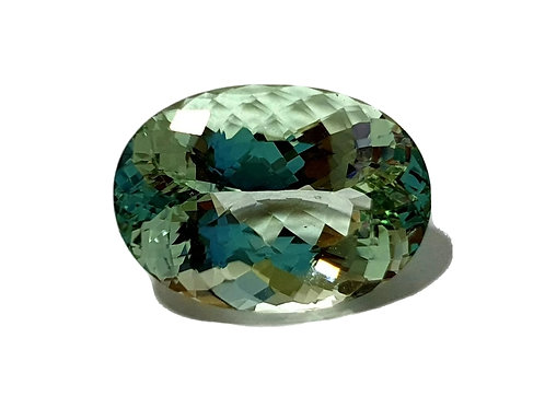 10.80 ct Natural Green Beryl from Brazil