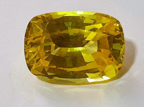 9.28 Ct Natural Yellow Sapphire No Heat from Sri Lanka