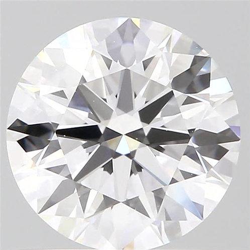 1.02  CT, D COLOR, VS2, DIAMOND GIA CERTIFIED,  3EX, MED