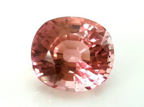 Fine 17.42 ct Natural Baby Pink Tourmaline loose gemstone from Mozambique