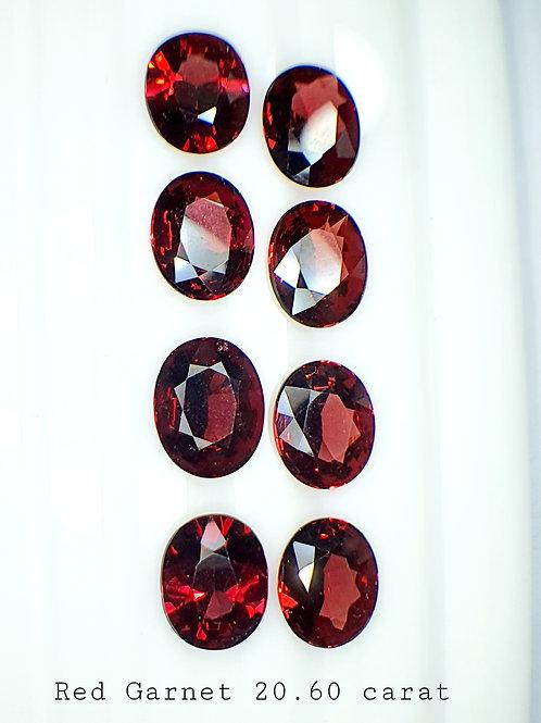 20.60 Ct Natural Rhodolite Garnet loose stone