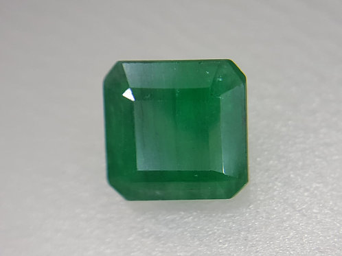 1.27 ct Natural Emerald oiled only semi transparent