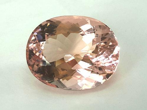 30.26 cs Natural Morganite from Brazil