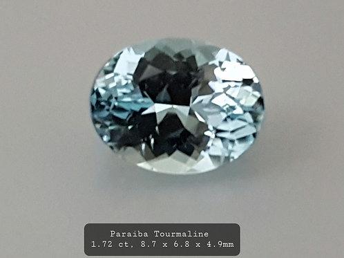 1.72 carats Paraiba Tourmaline