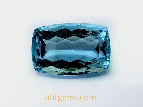 58 carat Santa Maria Aquamarine from Brazil