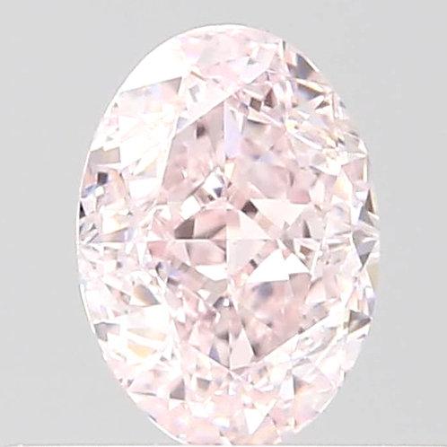 0.35 carat VVS1 Fancy Light Pink Diamond GIA certified