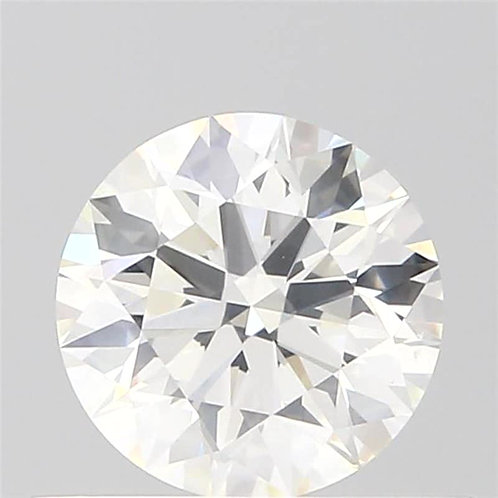 0.56 CT GIA CERTIFIED DIAMOND SOLITAIRE, H COLOR, SI1, 3EX