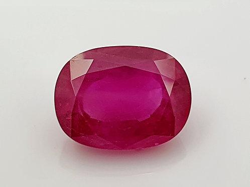 12.2 CTs Certified Burmese Ruby Loose Gemstone from Burma