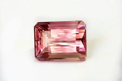 13.86 ct Flawless Pink Tourmaline  Mozambique