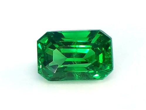 Natural Tsavorite garnet 1.63 ct stunning gem