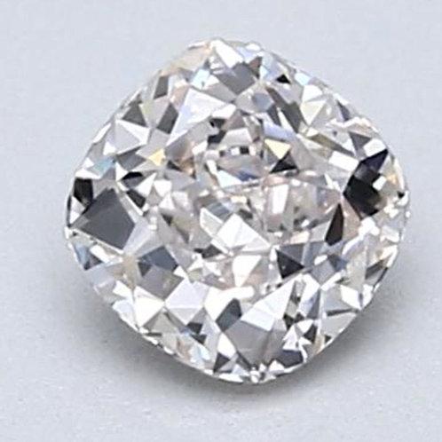 0.52 carat VS1 cushion Light Pink Diamond GIA Certified