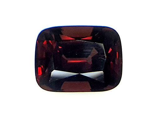 3.9 ct Natural Flame Red Spinel stone from Tanzania