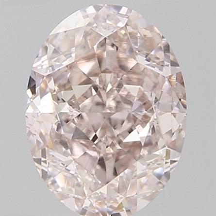 1.3 carat VVS2 Fancy Brown Pink Diamond GIA certified
