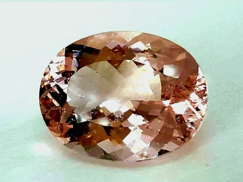 25.51 Ct Natural Morganite from Brazil
