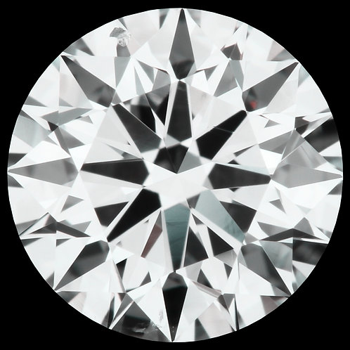 0.90 CT, H COLOR, SI1, 3-EX-N LOOSE DIAMOND, GIA CERTIFIED