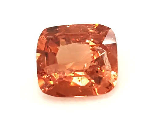 Beautiful Natural orangish pink color Spinel VS from Tanzania.