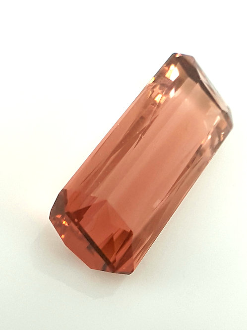 US $1750 High End 21.42 ct Bi Color Tourmaline from Brazil